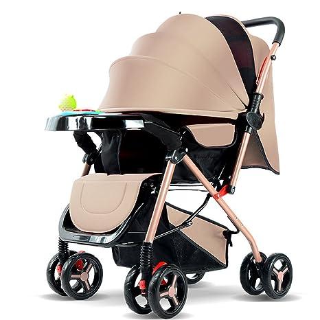 YEC Sillita de paseo de ocho ruedas para cochecitos de bebé ...
