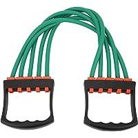 Buachois Borst-expander 5 touwen weerstand instelbare arm krachttrainer weerstandsoefensysteem voor thuistraining…