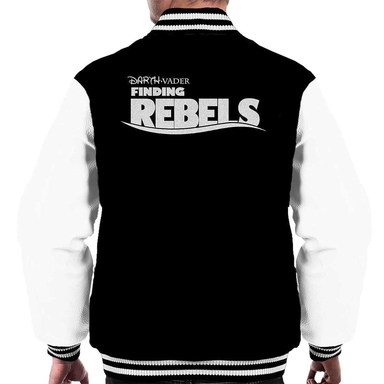 Star Wars Rogue One Finding Rebels White Men's Varsity Jacket