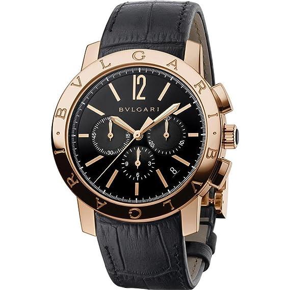 Bvlgari Bulgari Reloj de Hombre automático 41mm 102044 BBP41BGLDCH: Amazon.es: Relojes