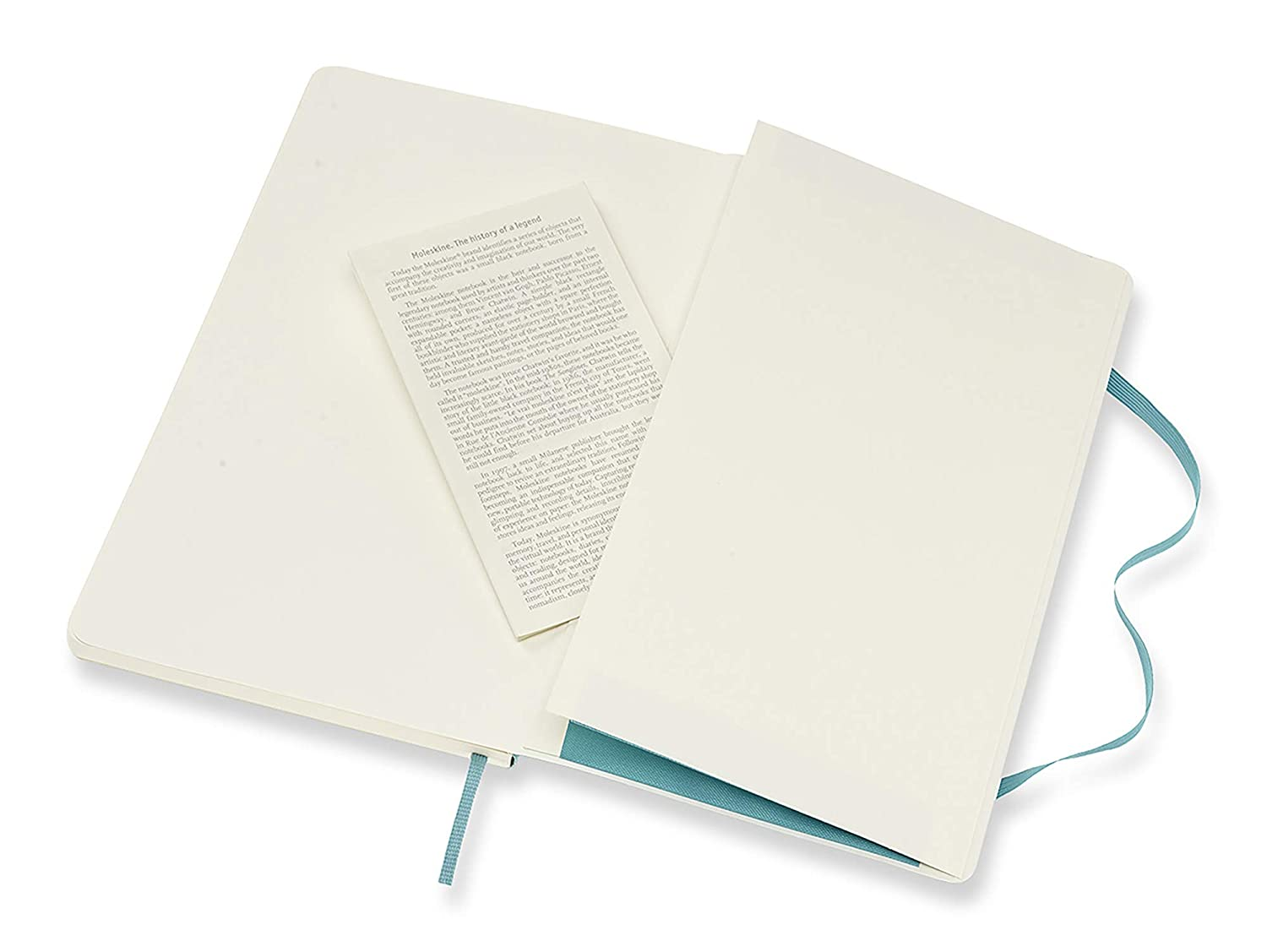 Soft Cover Ruled//Lined Large Moleskine Classic Notebook 5 x 8.25 Sapphire Blue