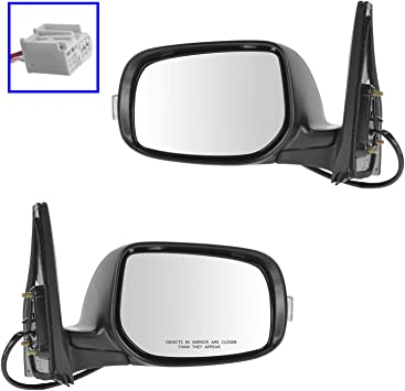 Mirror Power Signal Paint To Match LH Left Driver Side for 08-14 Scion xD