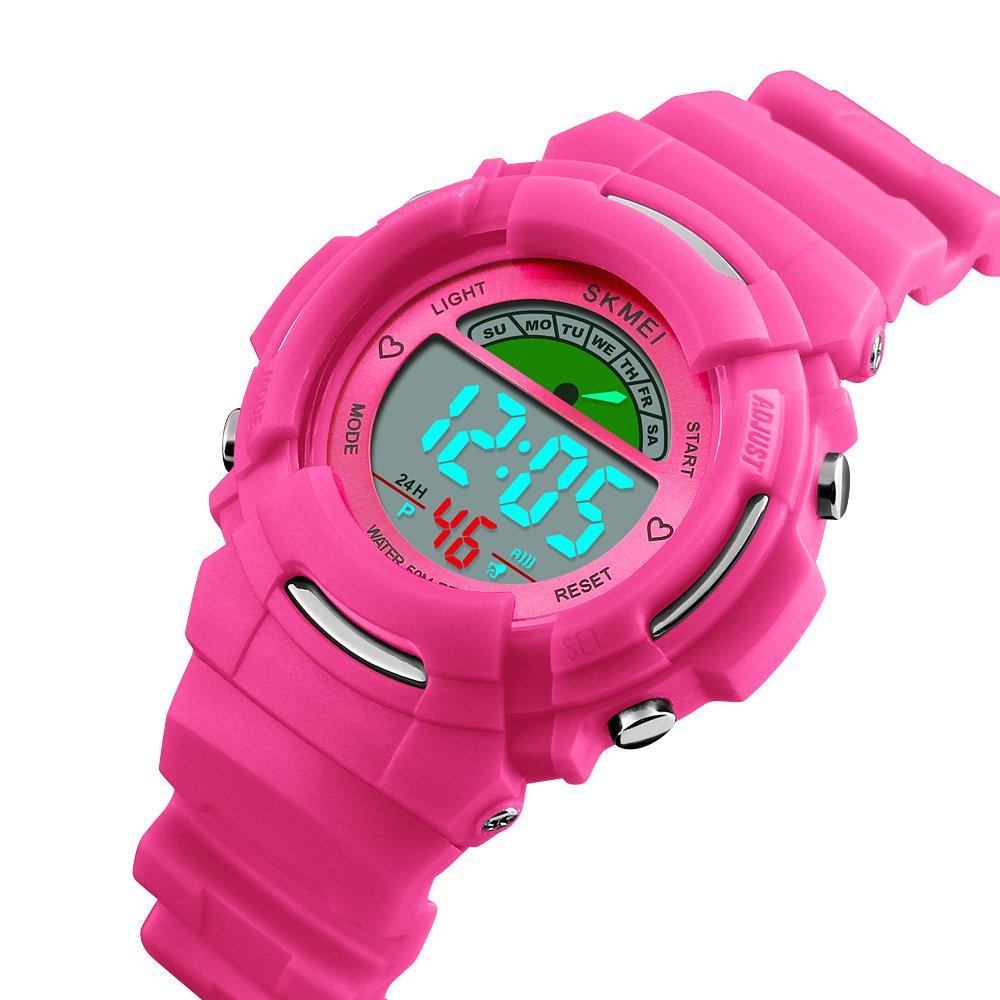 Tayhot Kids Digital Watches,Boys Girls Watch,Children Sports Waterproof Watch,Kids Digital Quartz Watch,LED Digital Watch with Alarm Back Light for Boys Girls Student
