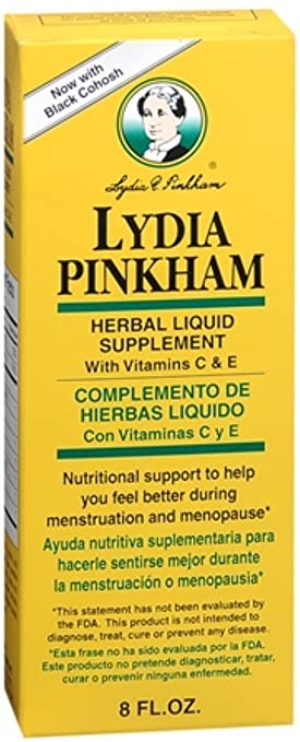Lydia Pinkham Herbal Liquid Supplement 8 oz (Pack of 10)