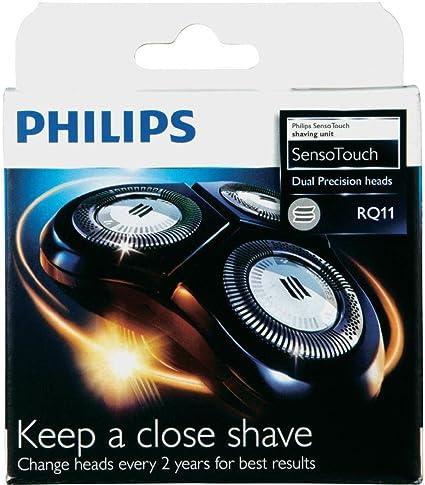 Philips RQ11 - Lote de cabezales para afeitadora RQ1150 RQ1160 RQ1180RQ1160CC RQ1180CC RQ1131 RQ1175 RQ1195: Amazon.es: Salud y cuidado personal