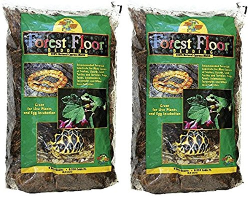Cypress Mulch ((2 Pack) Zoo Med Forest Floor Bedding)