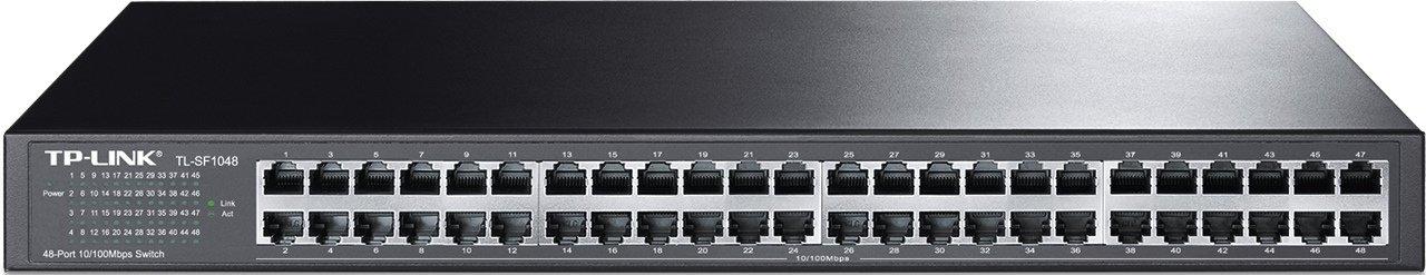 Limited Lifetime 802.3af Desktop| Metal TL-SF1008P TP-Link 8-Port Fast Ethernet Unmanaged PoE Switch with 57W 4-PoE Ports Plug and Play