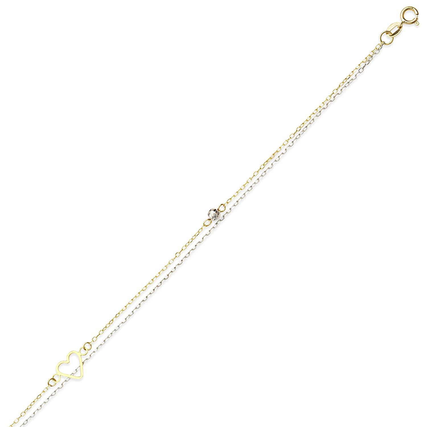10 Inches 14Kt Gold Anklet Anklet
