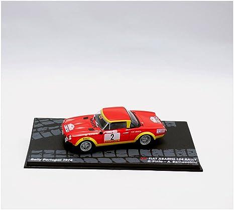 Coches Rally IXO 1:43 1/43 Fiat 124 Abarth Pinto-Bernacchini 1974