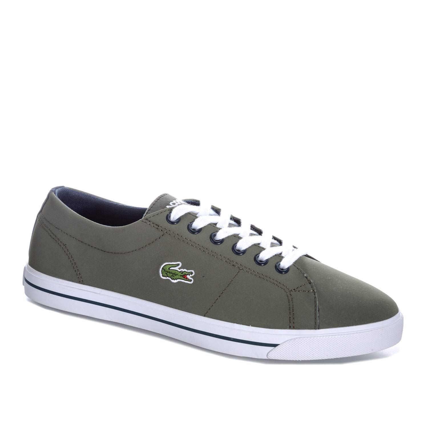 d63cf7623d91e Lacoste Junior Boys Riberac 318 Trainers in Khaki  Amazon.co.uk  Shoes    Bags