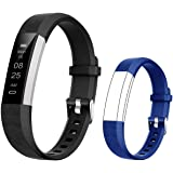 BIGGERFIVE Fitness Tracker Watch for Kids Girls Boys Teens, Activity Tracker, Pedometer, Calorie Counter, Sleep Monitor, Vibrating Alarm Clock,IP67 Waterproof Step Counter Watch, Great Kids Gift