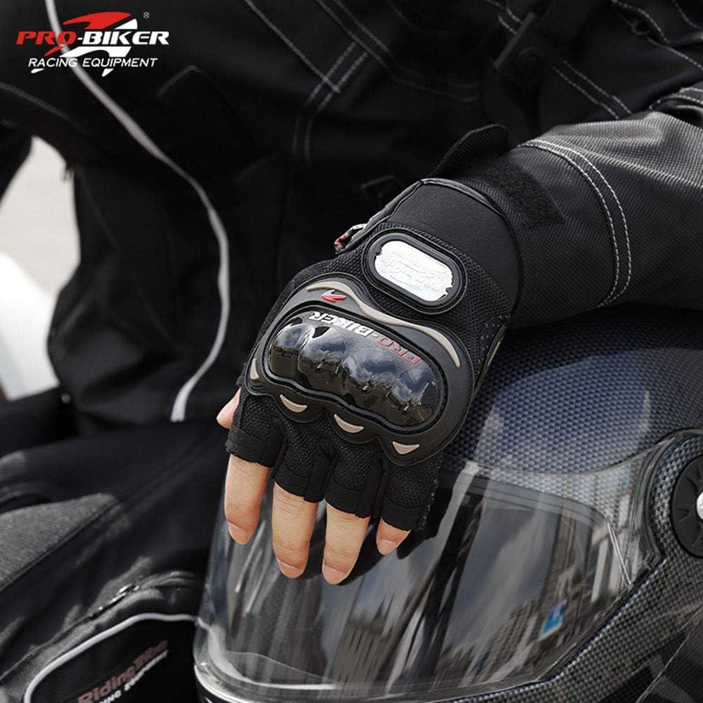 "SunFlower kurze Motorradhandschuhe /""Pro-Biker/"" aus Leder"