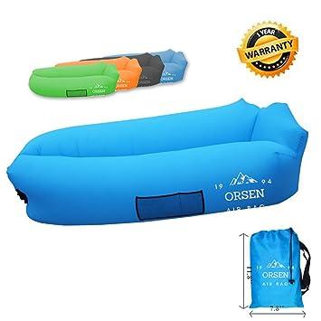 Lounger Air Bed Gonflable Canapé Chaise Longue Lazy Sitzsack c4RL3j5Aq