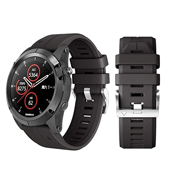 Liqiqi para Garmin Fenix 5 Plus Correas de Repuesto de ...