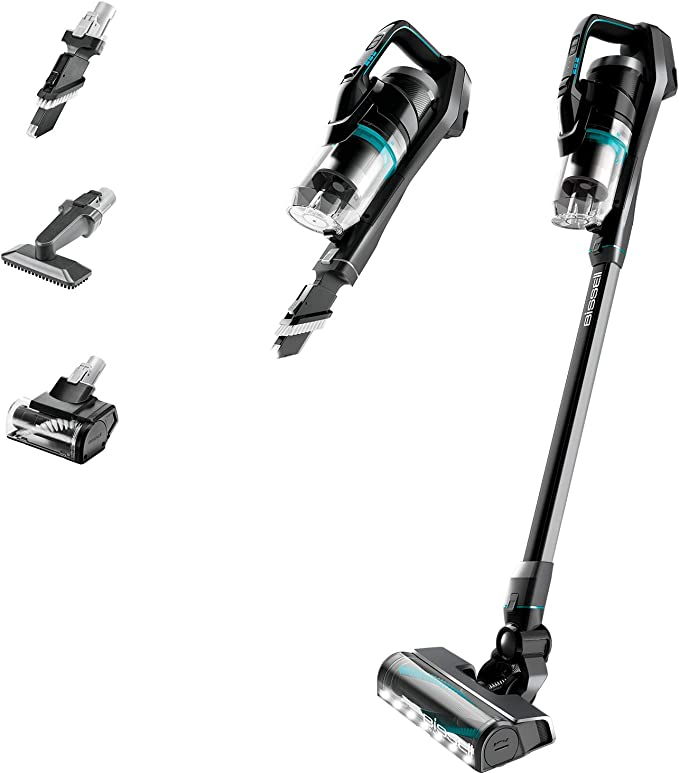 BISSELL Homecare 2602E, ICON Pet 25V Cordless Vacuum, Black/Electric Blue: Amazon.co.uk: Kitchen & Home