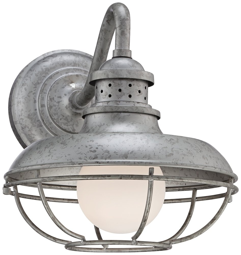 Franklin Park Metal 13'' High Steel Outdoor Wall Light by Franklin Iron Works