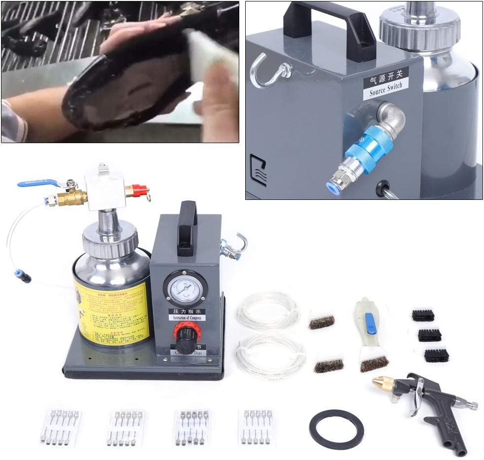 Automatic Pneumatic Gluing Machine Coating Machine Shoes Glue Dispenser 1L US