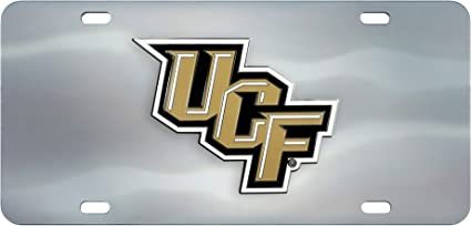6 x 12 FANMATS NCAA Florida Gators Die Cast License Plate Chrome