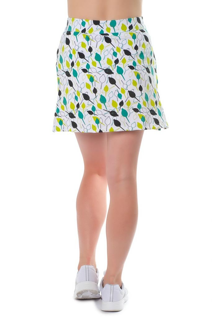 Haute Shot Micro-Poly Skort for Travel, Everyday, Golf, ect, Slimming fit, Breathable Comfort. by Haute Shot Golf (Image #3)