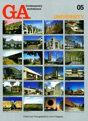 GA Contemporary Architecture 05―ユニバーシティ UNIVERSITY (現代建築シリーズ)
