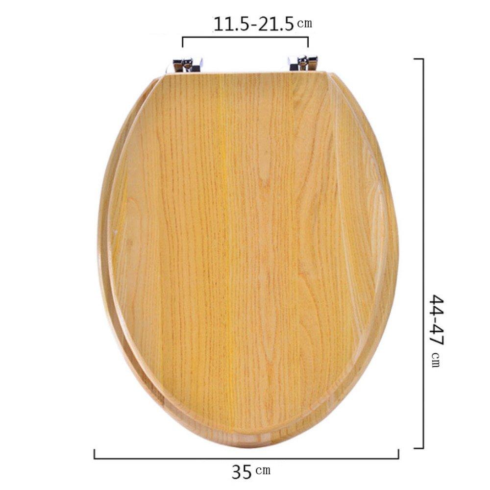 U V O Universal Toilettensitz Einbau Deckel Aus Massivem Holz Antibakterieller Typ,B