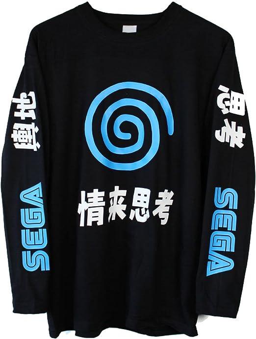 Sega Dreamcast Japanese Long Sleeve T-Shirt