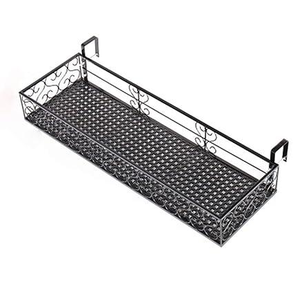Amazon.com: Jian E & Home - Perchero de balcón para colgar ...