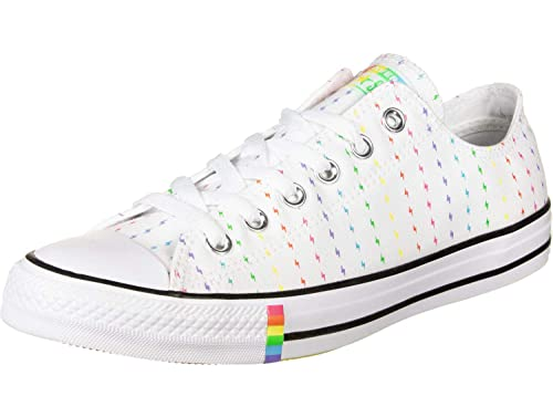 Converse All Star Pride Ox Trainers White