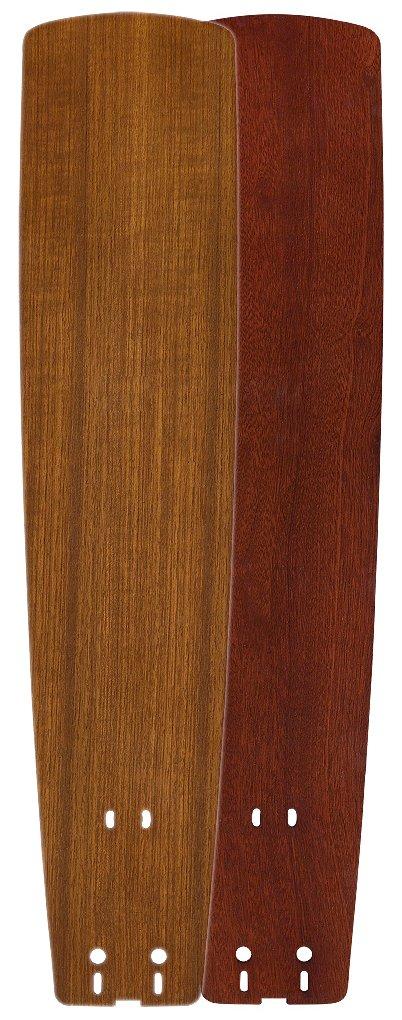 Fanimation B6133TKMH Standard Wood Blade, 26-Inch, Teak/Mahogany