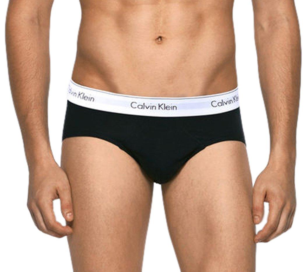 Calvin Klein Men's 2 Pack Modern Cotton Stretch Hip Brief NB1084G