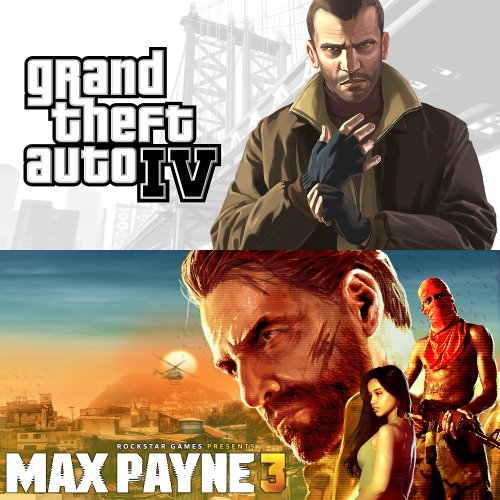 Grand Theft Auto IV Complete and Max Payne 3 Complete bundle [Online Game Code] image