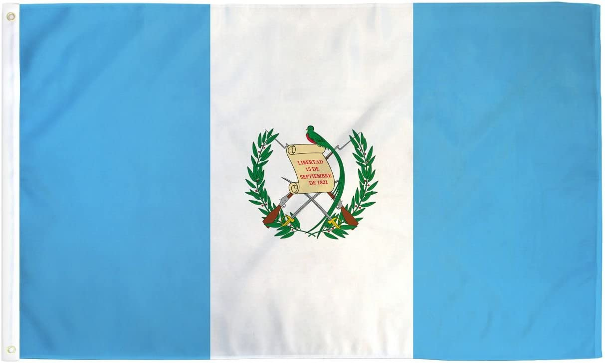 GUATEMALA COUNTRY   3' x 5'  Polyester Banner Flag
