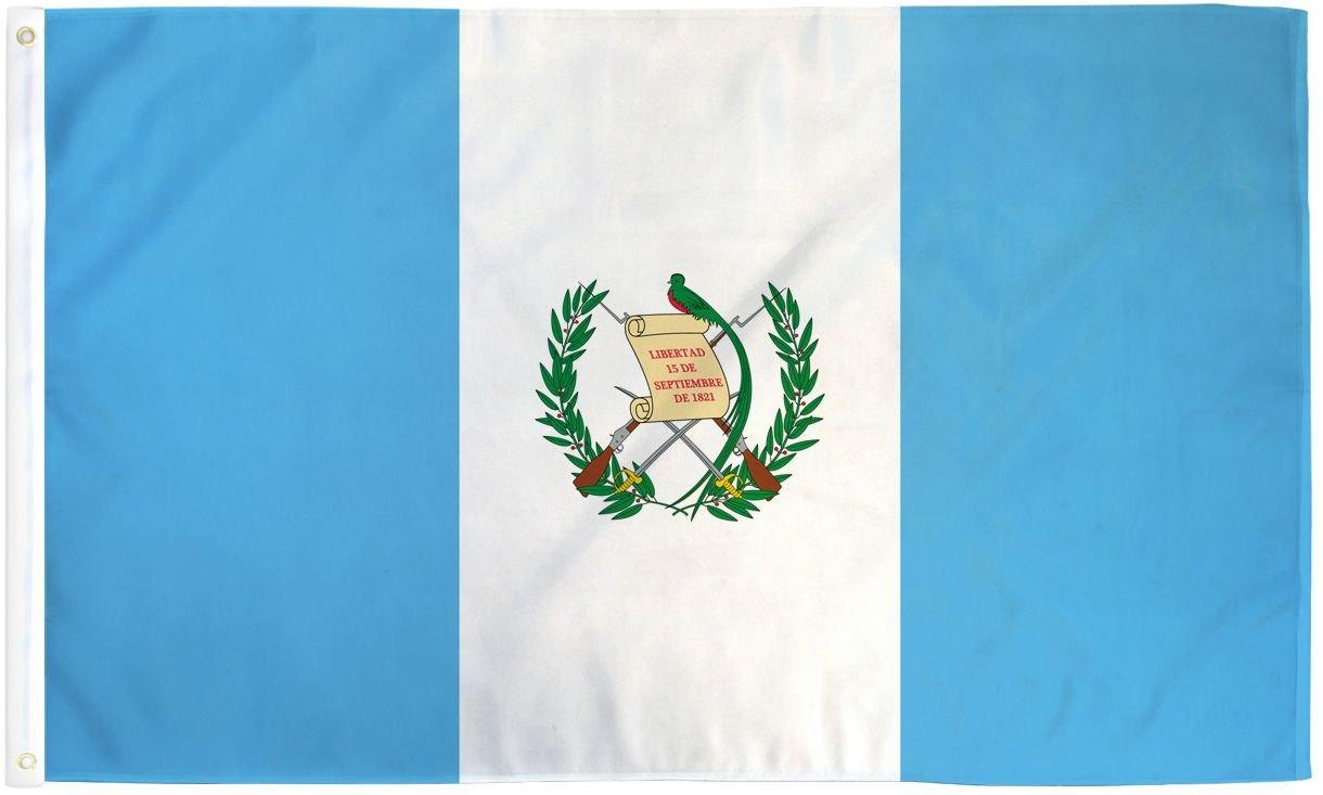3x5 Guatemala Flag Guatemalan Country Banner Central America Pennant Bandera