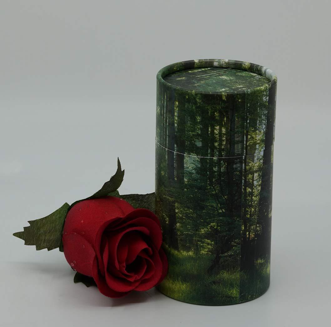 Casket Depot Scattering Tube Mini 5.5 Green Forest