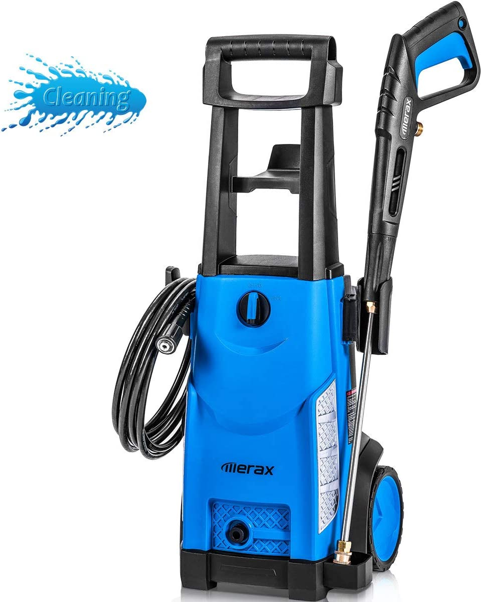 Merax 1800PSI 1.3GPM Electric Pressure Washer