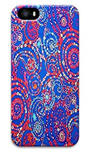 Beauty Design Lily Pulitzer Snail Paisley Back Case Cover for iPhone 5/5s