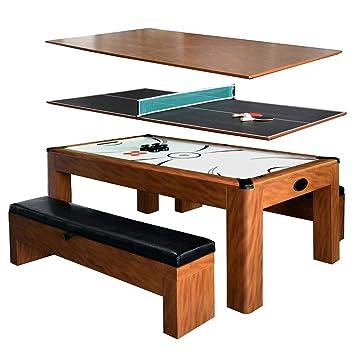 Sherwood 7u0027 Air Hockey / Table Tennis Table