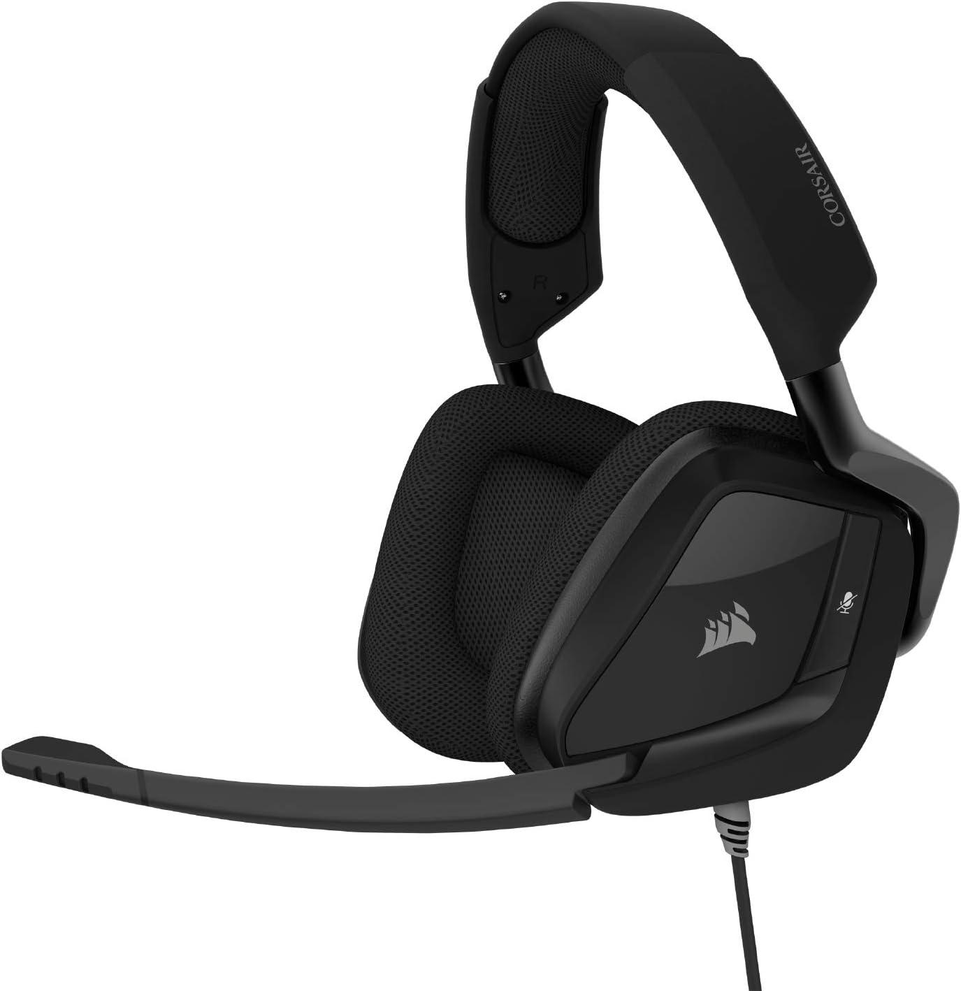 Corsair Void Elite Surround Premium Gaming Headset with 7.1 Surround Sound, Carbon