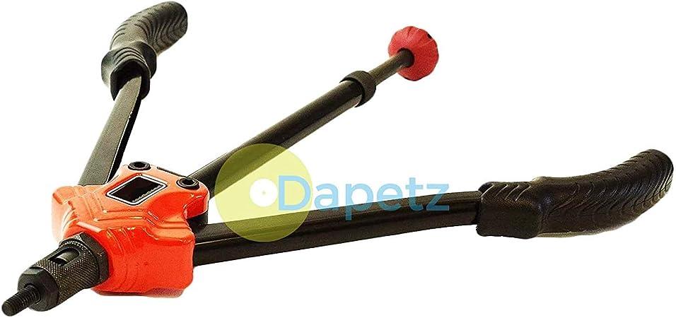 Unibos Twin Long Handle Nutsert Rivnut Riveter Threaded Insert Nut Riveting Tool M3-M12