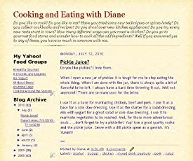 Cooking and Eating with Diane