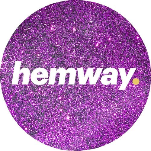 Hemway Premium Glitter, especially for art purposes