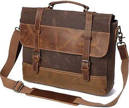 HXZB Mens Shoulder Bag Retro Single Shoulder Messenger Bag