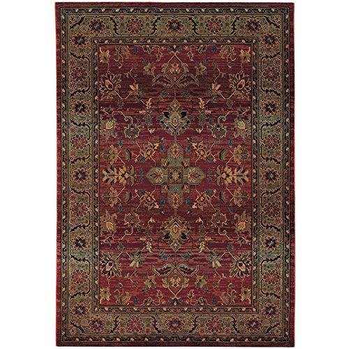 Oriental Weavers Kharma 836C4 Area Rug, 2' x 3', Red