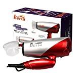 Amazon Price History for:Berta 1875 Watts Folding Hair Dryer Tourmaline Ceramic Negative Ionic Blow Dryer US Plug