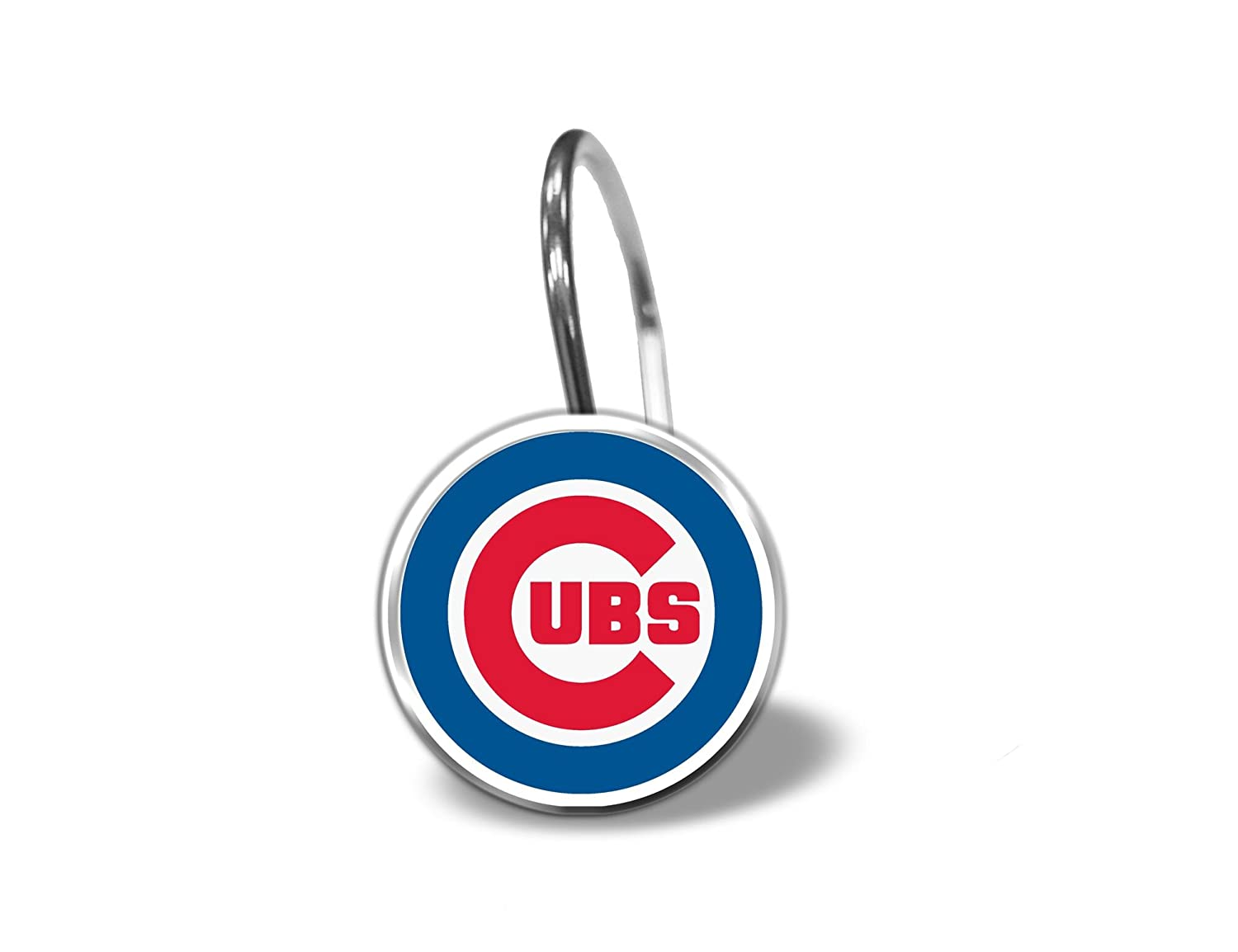 Amazon Com Chicago Cubs Shower Curtain Rings Set Of 12 Sports