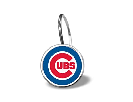 Chicago Cubs Shower Curtain Rings