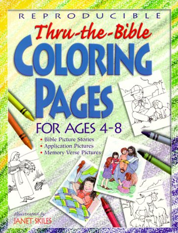 (Thru The Bible Coloring Pages (Teacher Training Series))