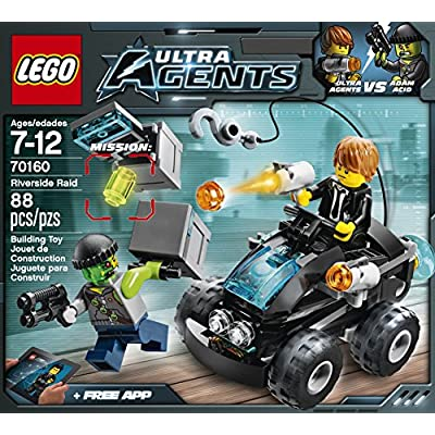 LEGO, Ultra Agents, Riverside Raid (70160): Toys & Games