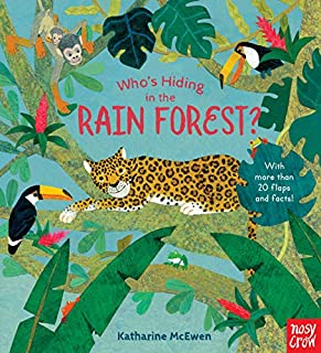 Book Cover: Who's Hiding in the Rain Forest?