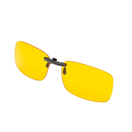 Amazing PROSPEK   Premium Computer Glasses   Elite Clip On   Glasses Clip   Blue  Light And